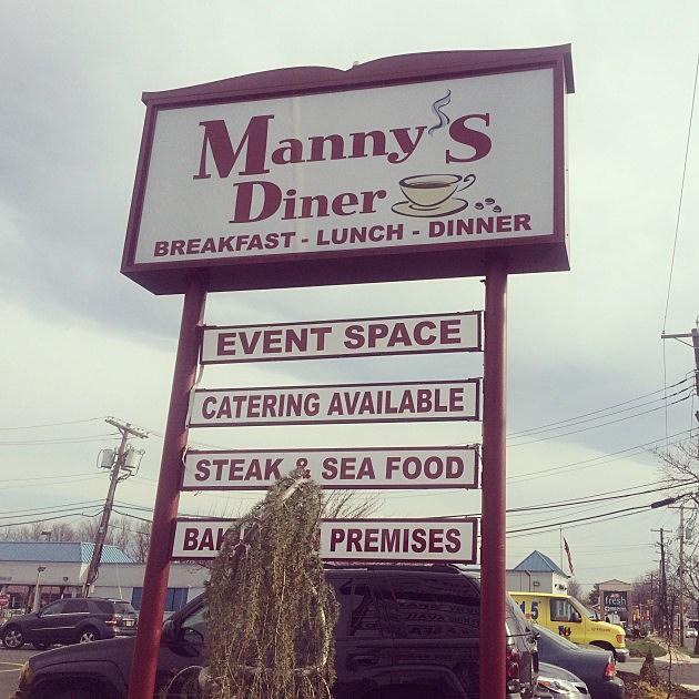 Dennis & Judi Diner Tour 2014 at manny's Diner of Clark