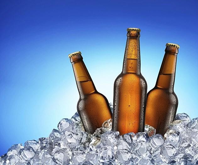 Cool beer bottles.