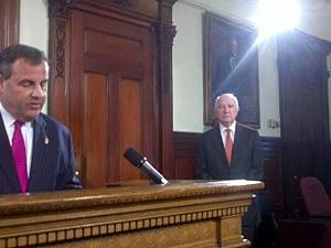 Govenor Christie and Port Authority Chairman nominee John Degnan