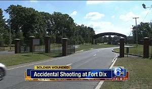 Entrance to Fort Dix