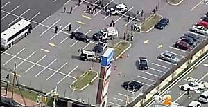 Garfield shopping center during shooting