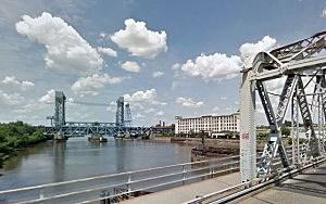 Passaic River in Newark