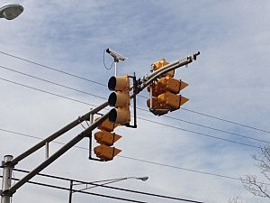 red light camera in Pohatcong, NJ