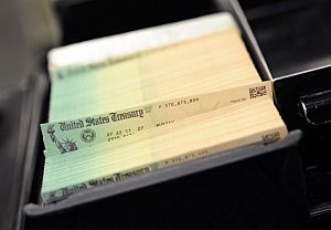 U.S Treasury Facility Prints Social Security Checks