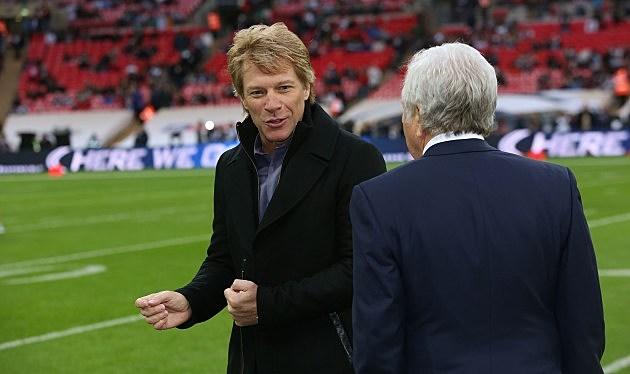 Jon Bon Jovi Endorsed by Cowboys Owner Jerry Jones