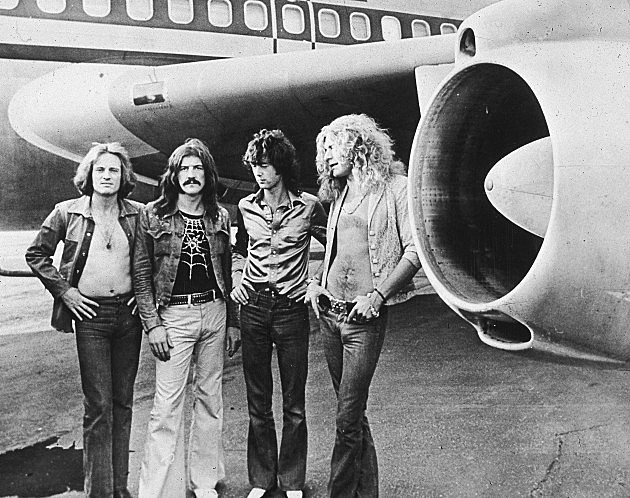 Led Zeppelin with jet