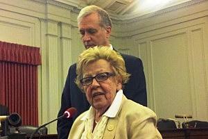 Asm. John Wisniewski, Sen. Loretta Weinberg