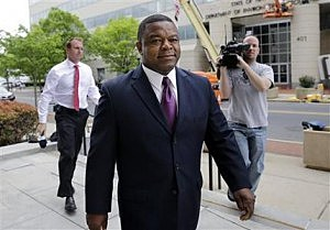 former Trenton Mayor Tony Mack arrives at Federal Court for his sentencing