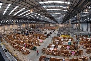 Amazon 'fulfilment centre' warehouse