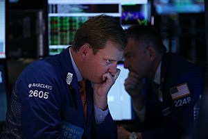 Markets React To Federal Reserve Policy Announcement