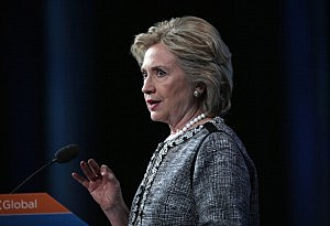 Hillary Clinton Speaks At American Jewish Council Global Forum