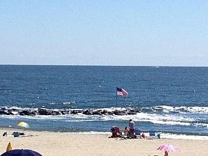 Jersey Shore beach