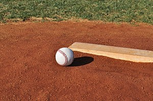 Baseball on the Pitcher's Mound