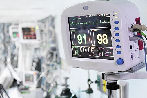 medical monitors, hospital
