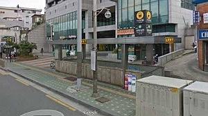 Entrance to  Sangwangshipri subway station in Seoul, South Korea