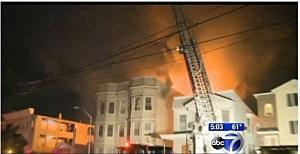 Fire in Harrison