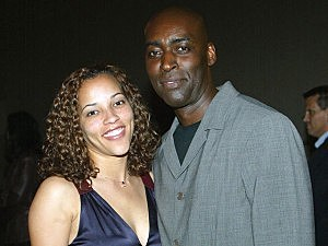 Michael Jace and wife April