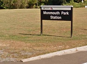 NJ Transit's Monmouth Park station