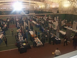 Job fair at The College of New Jersey in Ewing