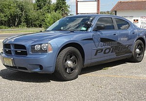Lakehurst police cruiser