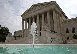 U.S. Supreme Court in Washington D.C