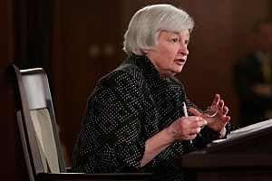 Fed Chair Janet Yellen Holds News Conference On Interest Rates