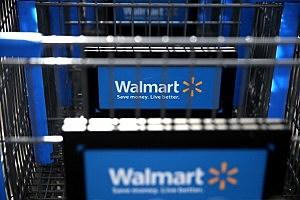 Wal-Mart shopping carts