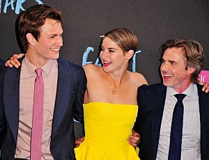 "Ansel Elgort, Shailene Woodley, and Sam Trammell attend ""The Fault In Our Stars"" premiere at Ziegfeld Theater"