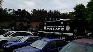 Gloucester Township respond to standoff at Autumn Ridge Apartments