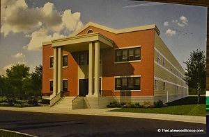 Artists rendition of Oros Bais Yaakov, the proposed all-girls Jewish high school in Jackson