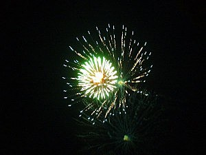 Fireworks over Beachwood