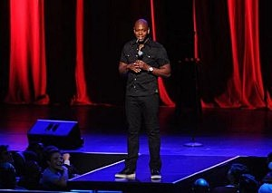 Dave Chappelle performs at Radio City Music Hall on Wednesday, June 18, 2014, in New York City.