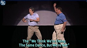 Gov. Christie dances with Jimmy Fallon