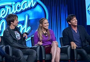 """American Idol""  judges Keith Urban, Jennifer Lopez, and Harry Connick Jr"