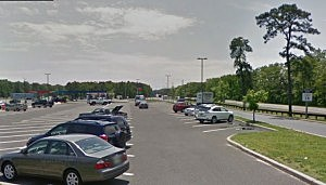 Atlantic City service area on the Garden State Parkway  in Galloway