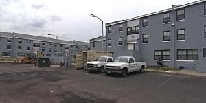 Apartment complex where a 5-year-boy was shot in Jersey City