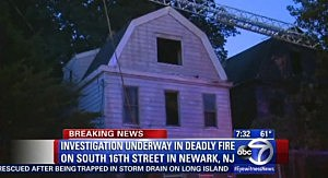 Home on 16th Street in Newark burned by fire early Sunday