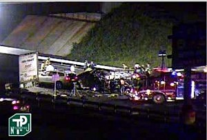 Accident involving Tracy Morgan on the New Jersey Turnpike