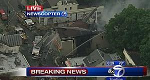 Fire on 12th Avenue in Paterson