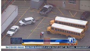 Two buses involved with a student slashing at Pennsauken High School
