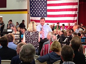 Gov. Chris Christie hosts his 122nd town hall in Haddon Heights, Camden County