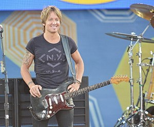 """Keith Urban performs On ABC's """"Good Morning America"""" at Rumsey Playfield in Central Park ("""