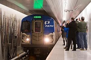 PATH train in Hoboken