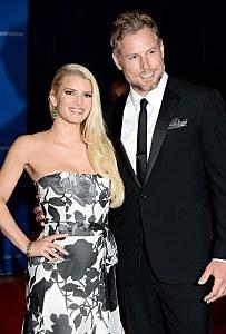 Jessica Simpson and Eric Johnson