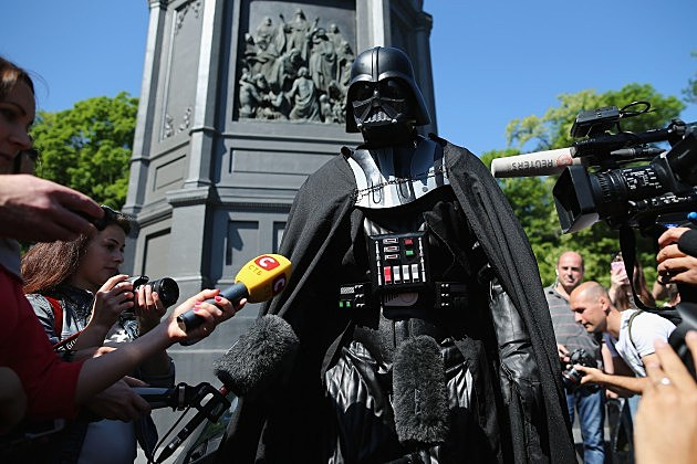 Darth Vader is more popular than any 2015 presidential candidate
