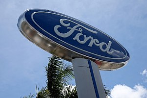 Ford dealership sign