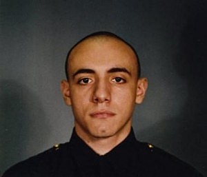 Jersey City police officer Melvin Santiago