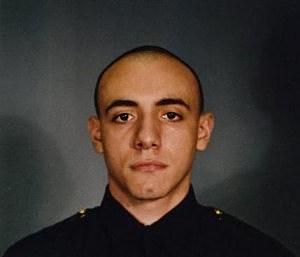Jersey City police officer Melvin Santiago