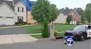 Home of Edison Police Captain Mark Anderko (WABC TV)
