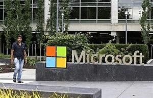 Microsoft Visitor Center in Redmond, Wash.